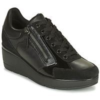 Chaussures Femme Baskets basses Geox ILDE Noir
