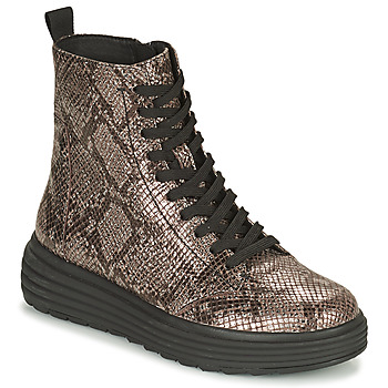 Chaussures Femme Boots Geox PHAOLAE Marron