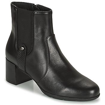 Chaussures Femme Bottines Geox ANNYA Noir