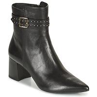 Chaussures Femme Bottines Geox BIGLIANA Noir