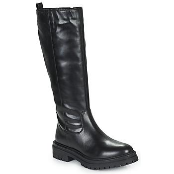 Chaussures Femme Bottes ville Geox IRIDEA Noir