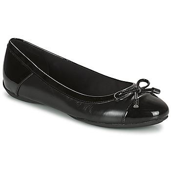 Chaussures Femme Ballerines / babies Geox CHARLENE Noir