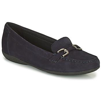 Chaussures Femme Mocassins Geox ANNYTAH Marine