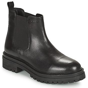 Chaussures Femme Boots Geox IRIDEA Noir