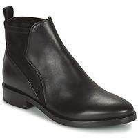 Chaussures Femme Boots Geox DONNA BROGUE Noir