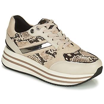 Chaussures Femme Baskets basses Geox KENCY Beige
