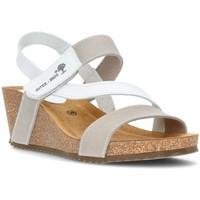 Chaussures Femme Sandales et Nu-pieds Interbios Sandales  Caleçon confortable 2019 BLANC