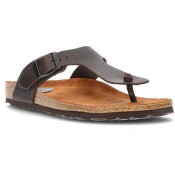 Chaussures Femme Tongs Interbios Sandales  DAYIS PEREAS MOKA