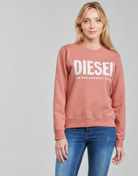 Vêtements Femme Sweats Diesel F-ANGS-ECOLOGO Rose