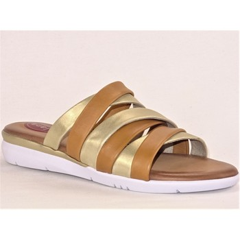 Chaussures Femme Mules Jana JANA4245 CAMEL ET OR