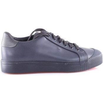 Chaussures Homme Baskets montantes Santoni MBCO21206NEARBNY Anthracite