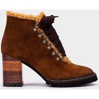 Chaussures Femme Bottines Pedro Miralles Alaska Marron
