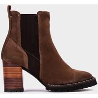 Chaussures Femme Bottines Pedro Miralles Texas Marron