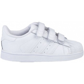 Chaussures Enfant Baskets mode adidas Originals Superstar Foundation CF I B25725 Blanc