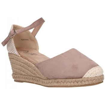 Chaussures Femme Espadrilles Amaspies AMARPIES YCX17416 Mujer Taupe marron