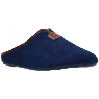 Chaussures Femme Chaussons Norteñas 9-191 Mujer Azul marino bleu