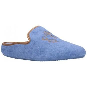 Chaussures Femme Chaussons Norteñas 9-35-23 Mujer Celeste bleu