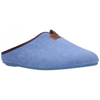Chaussures Femme Chaussons Norteñas 9-191 Mujer Celeste bleu
