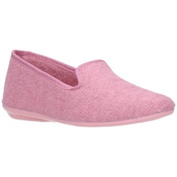 Chaussures Fille Chaussons Norteñas 9-980 Niña Rosa rose