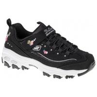 Chaussures Enfant Randonnée Skechers Dlites Lil Blossom noir