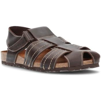 Chaussures Homme Sandales et Nu-pieds Interbios fermé sandales MOKA