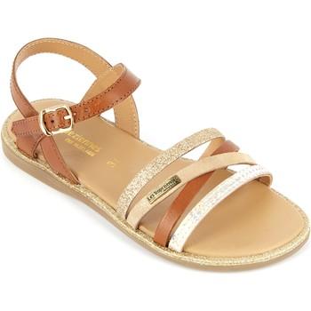Chaussures Fille Sandales et Nu-pieds Les Tropéziennes par M Belarbi Sandales  Inaya Marron