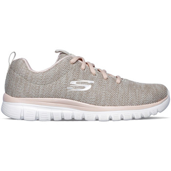 Chaussures Femme Baskets basses Skechers Graceful -Twisted Fortune Beige