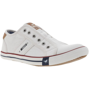 Chaussures Homme Slip ons Mustang 4058-401 Blanc