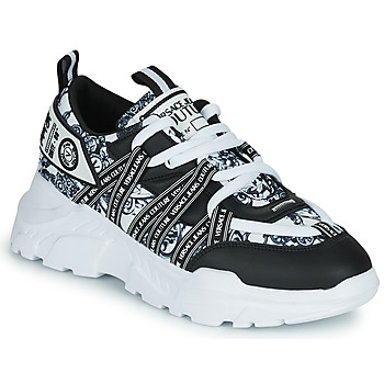 Chaussures Homme Baskets basses Versace Jeans Couture DOLINO Noir / Blanc