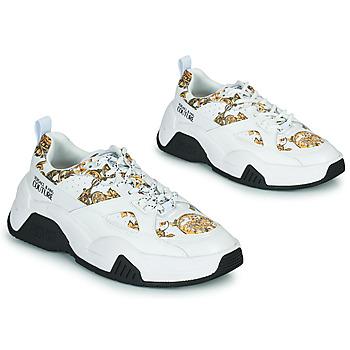 Chaussures Femme Baskets basses Versace Jeans Couture FELINA Blanc Imprimé Baroque