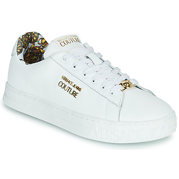 Chaussures Femme Baskets basses Versace Jeans Couture REMO Blanc