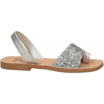 Chaussures Femme Mules Ria METALIZADO silver