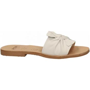 Chaussures Femme Mules Ria VELVET bianco