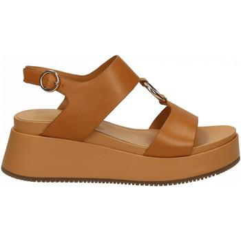 Chaussures Femme Sandales et Nu-pieds Apepazza ZELDA cognac