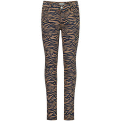 Vêtements Fille Jeans Koko Noko Fille long-pantalons Marron