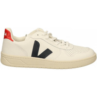 Chaussures Homme Baskets mode Veja V-10 bianco-blu