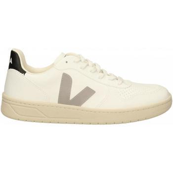 Chaussures Homme Baskets mode Veja V-10 bianco-grigio