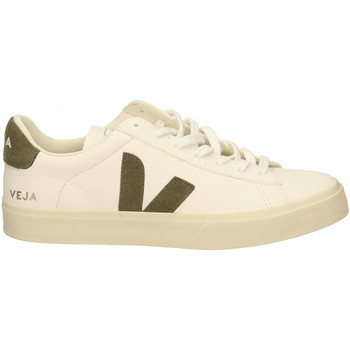 Chaussures Homme Baskets mode Veja CAMPO bianco-khaki