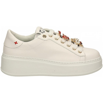 Chaussures Femme Baskets mode Gio + + APE bianco