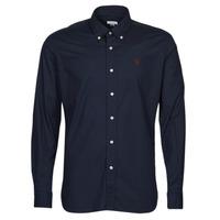 Vêtements Homme Chemises manches longues U.S Polo Assn. DIRK 51371 EH03 Marine