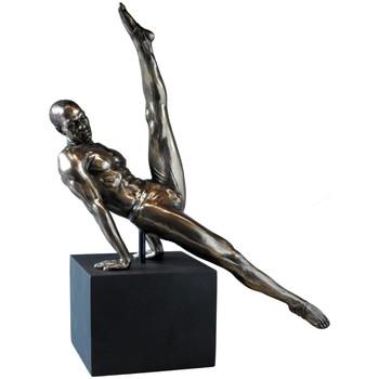 Maison & Déco Statuettes et figurines Retro Véronèse - Statue Body Talk en résine - Athlète 30 cm Doré