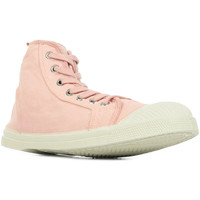Chaussures Femme Baskets montantes Bensimon Tennis Stella rose