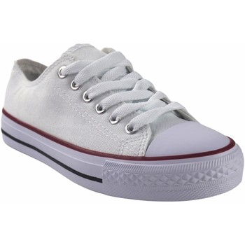 Chaussures Femme Multisport Bienve Toile Lady  CA01 Blanc Blanc