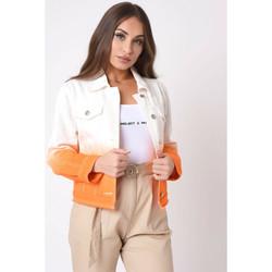 Vêtements Femme Vestes en jean Project X Paris Veste Légère Orange