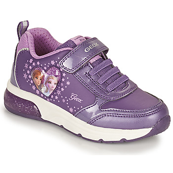 Chaussures Fille Baskets basses Geox SPACECLUB Violet