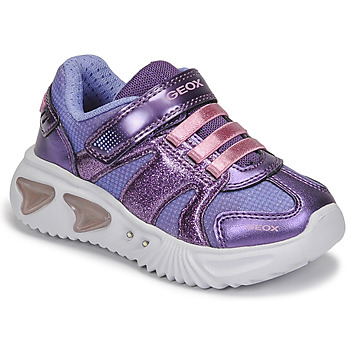 Chaussures Fille Baskets basses Geox ASSISTER Violet