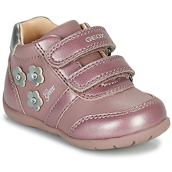 Chaussures Fille Baskets basses Geox ELTHAN Rose