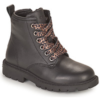 Chaussures Fille Boots Geox SHAYLAX Noir