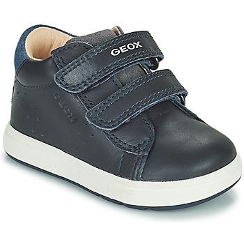 Chaussures Garçon Baskets basses Geox BIGLIA Marine