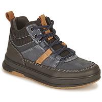Chaussures Garçon Boots Geox ASTUTO Marine